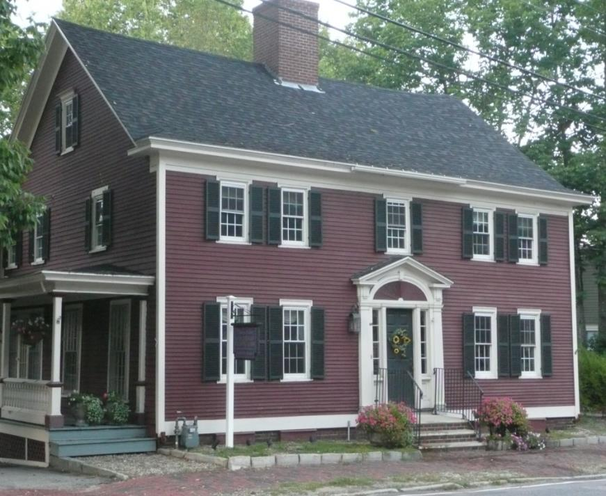 View of 45 Silver Street in Dover, NH exterior.